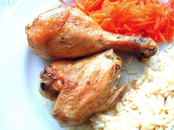 Kurczak pieczony z curry