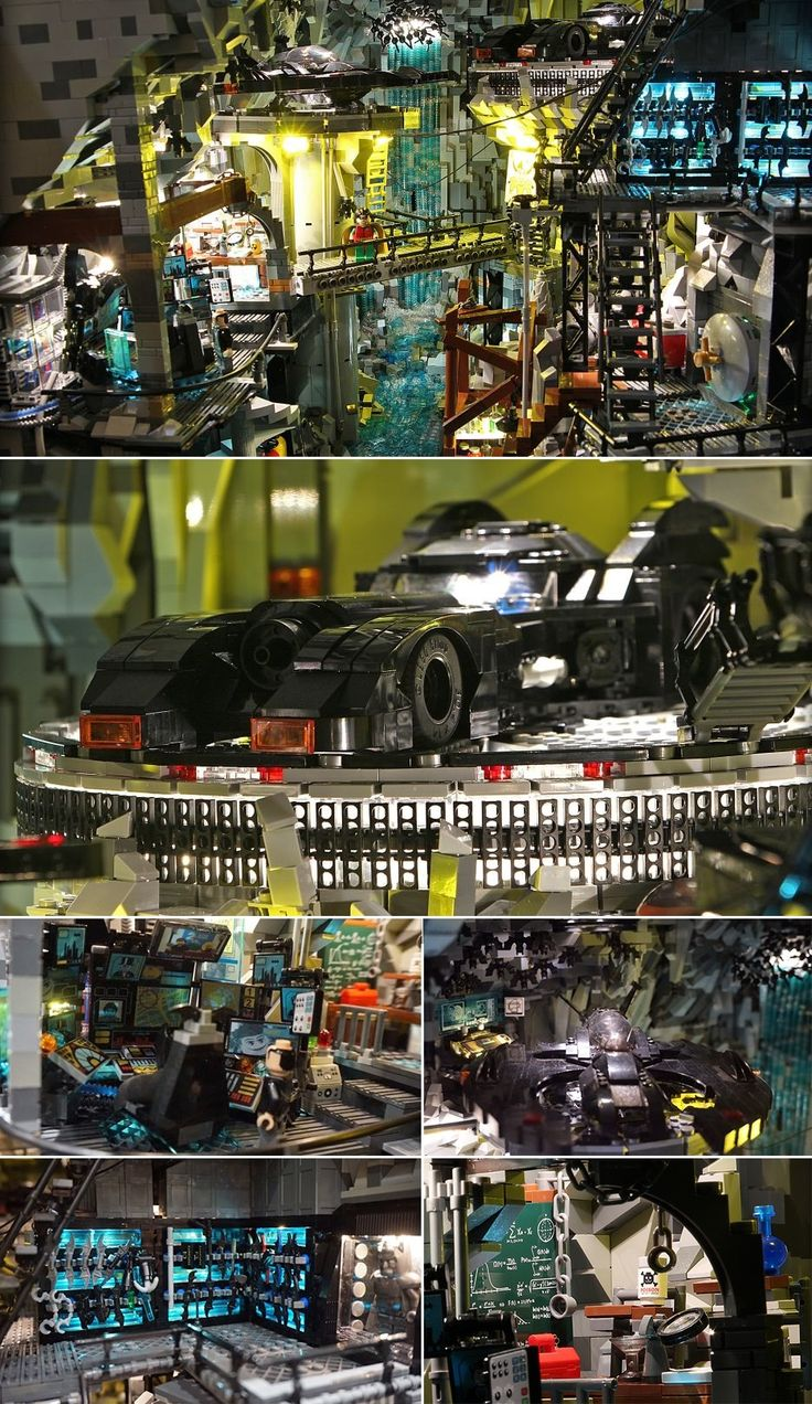 The Endless Details In This Custom Lego Batcave Are Completely Overwhelming