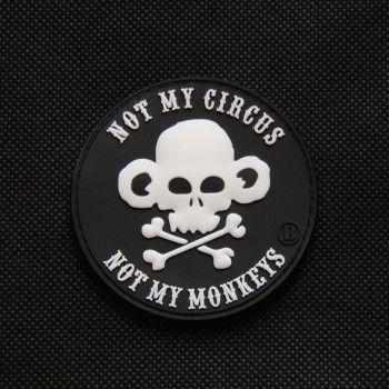 . . .not my circus, not my monkeys, not my rhetoric, not my mind . . .