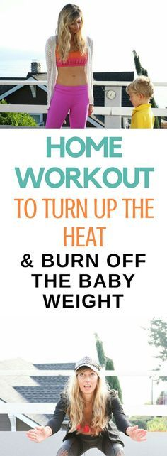 Burning calories is key to losing the baby weight. You want to get your metabolism running and burning as much as possible to shed those extra pounds. I have a go-to home workout that I use to achieve the cardio challenge I love when going on a run, while also strengthening my muscles. The key for me, is to have a workout that I know is challenging every time, I can do anywhere, and I breathe hard. Those are the essentials.