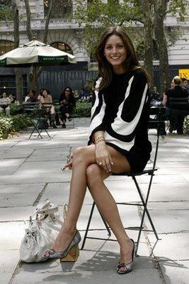 op: Oliviapalermo, Hair Colors Style, Bryant Parks, Style Icons, Black White, Olivia Palermo, The Dresses, Mod Dresses, Cute Work Outfits