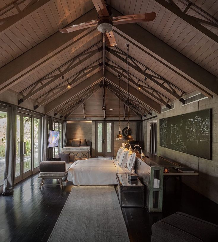 bedroom marvelous ideas with wooden roofs | Wooden roof ceiling bedroom in 2019 | Roof ceiling, Wooden ...