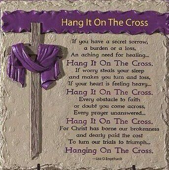 Hang It On The Cross
