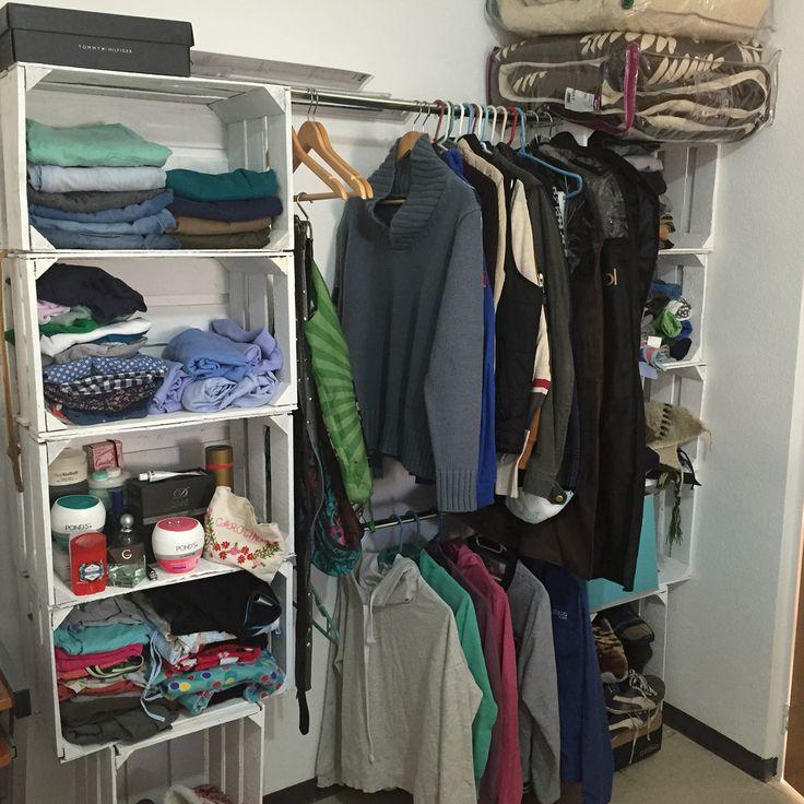 Para hacer tu propio cl set s lo necesitas cajas de madera for Cajas para guardar ropa armario