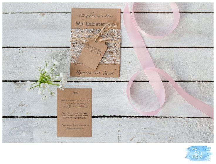 Wir gestalten eure Hochzeitspapeterie individuell und persönlich.Unsere Designerin erstellt euch eure Papeterie. Von den Save the Dates über die Menükarten bis hin zu den Danksagungskarten.Bei den kreativen Ideen steht euch Anna-Maria mit Rat & Tat zur Seite.Gerne erstellen wir euch ein…