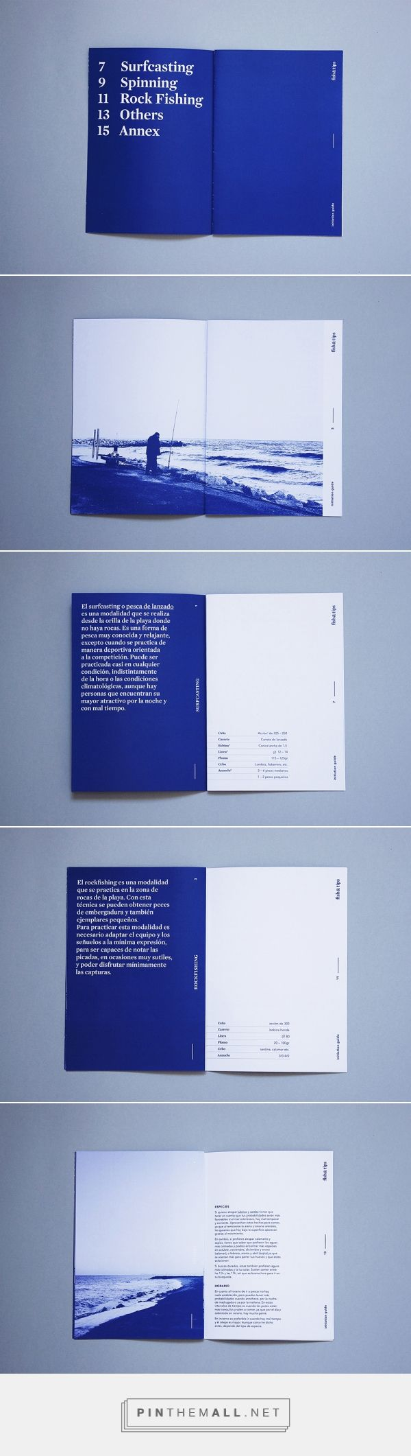 Fish&Tips on Behance... - a grouped images picture - Pin Them All
