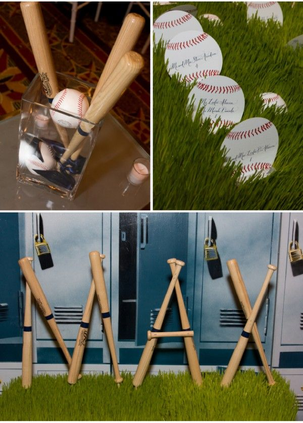 Attention 2 Detail: Baseball Party Theme