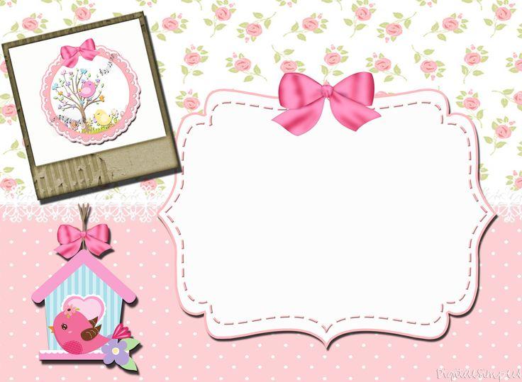 kit de personalizados tema  u0026quot passarinhos u0026quot  para meninas para