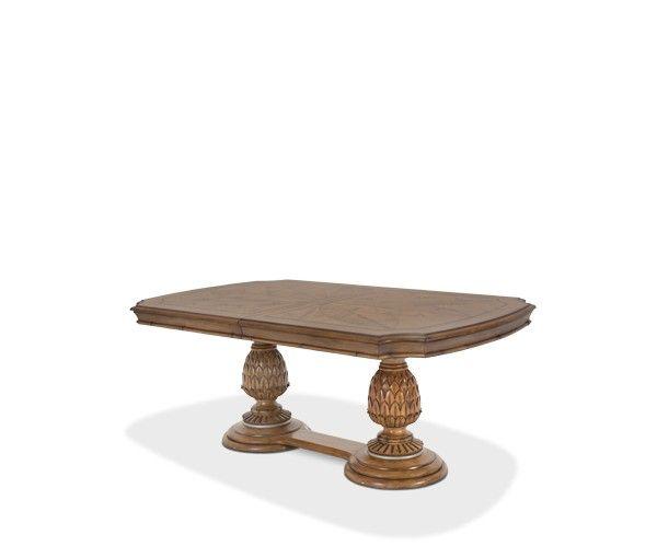 AICO Furniture Excursions Rectangular Dining Table 109