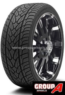 Ecsta STX 285-40-24 112V. The Ecsta STX is part of Kumho Tire's Ecsta performance family and is focused on delivering premium high performance driving pleasure for your pickup truck, SUV and crossover utility vehicle.