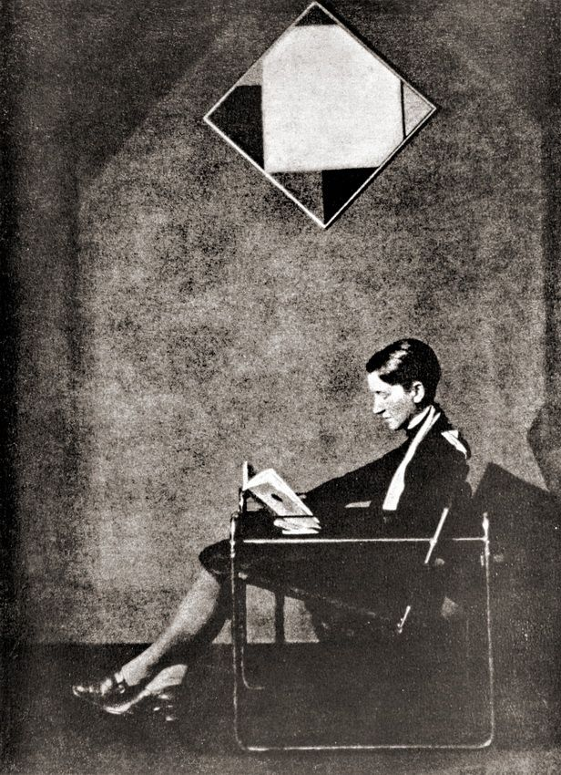 1927. Henri Berssenbrugge. His wive Gum print