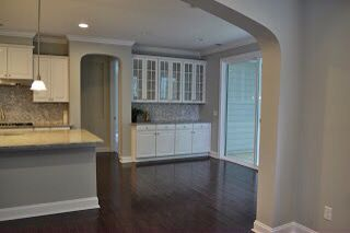 Wall color Sherwin Williams Versatile Gray