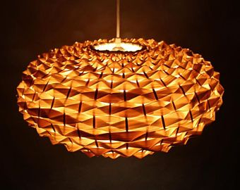 Natural Bamboo Pendant Lights Bamboo Light Fixtures Hand Woven From Thin  Bamboo Slice Lighting