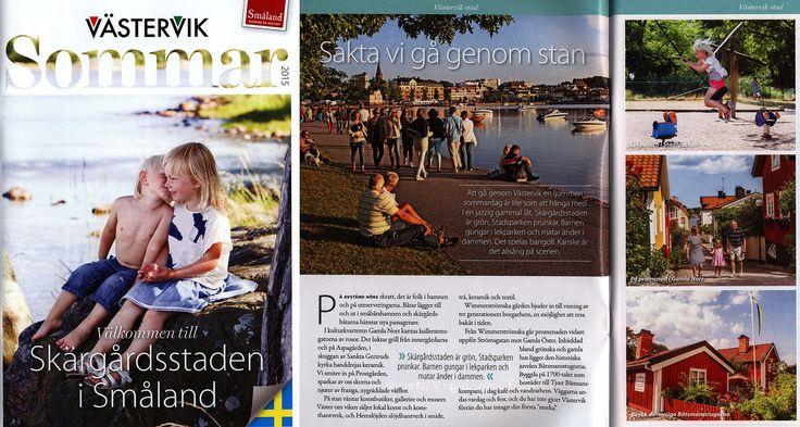 https://flic.kr/p/NkKNY1 | Västervik Sommar 2015, Välkommen till Skärgårdsstaden i Småland; Kalmar co., Sweden