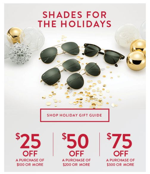 Sunglass Hut Coupon 2016 | Printable Coupons, Grocery & Coupon Codes