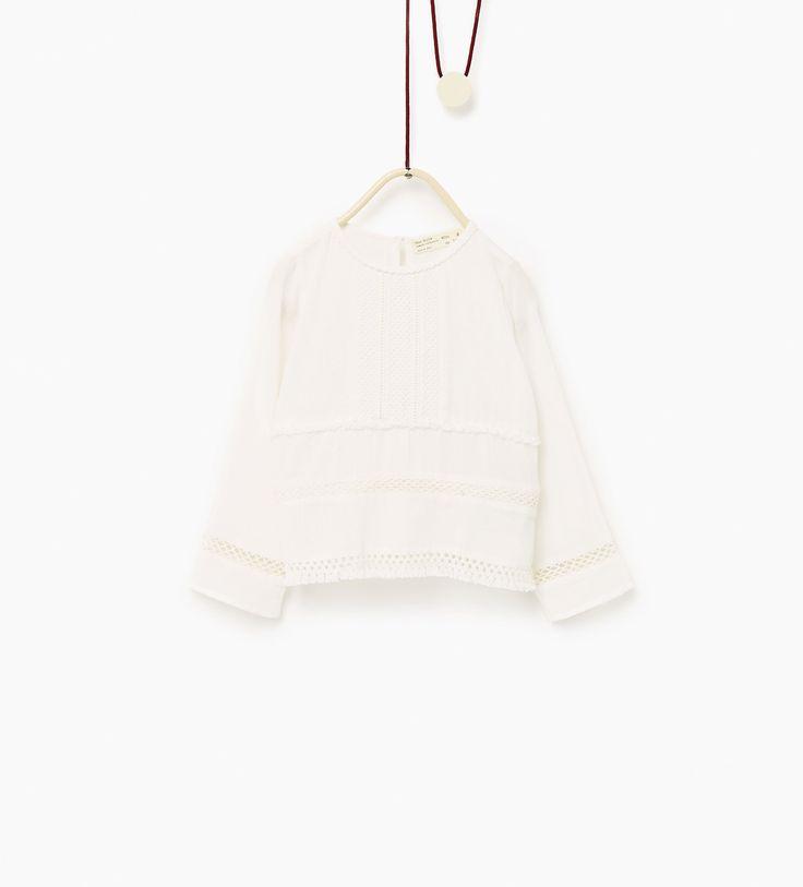 Рубашка с прошивкой и бахромой