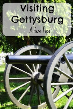 Visiting Gettysburg - A few tips - We love visiting Gettysburg, the drive from Maryland to Pennsylvania is beautiful (and there isn't as much traffic as heading south). Visiting Gettysburg is a fun and educational family trip. Here are a few tips from our trips to Gettysburg.