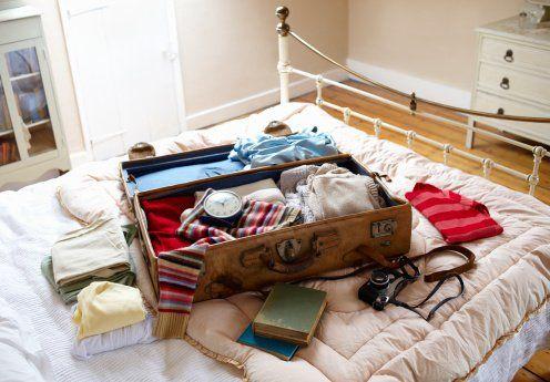 Três passos para fazer a mala ideal de viagem