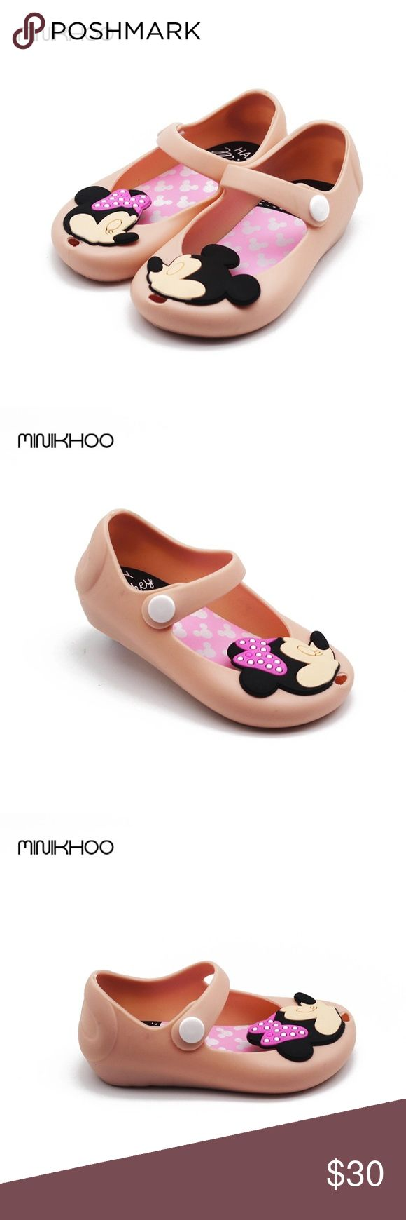 🎉🎉Hp🎉🎉Mini Melissa remakes Minnie jelly shoes New Minnie Mickey  kissing jelly shoes Shoes Sandals & Flip Flops