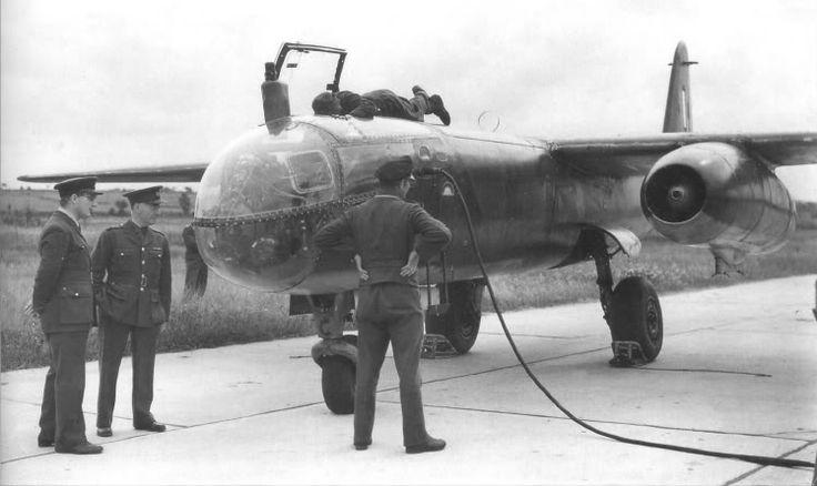 Un Ar 234 B-2 capturado por los ingleses en Noruega en Mayo de 1945.