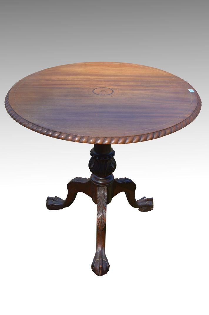 18113 Centennial Solid Mahogany Inlaid Ball and Claw Chippendale Tilt Top  Table. Old FurnitureLiving Room FurnitureAntique ... - 70 Best Antique Living Room Furniture Images On Pinterest