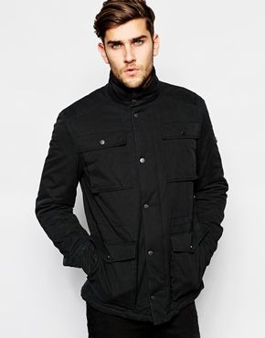 Ben Sherman Field Dry Wax Coated Jacket