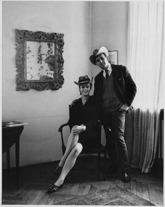 Beata Tyszkiewicz and Andrzej Wajda | 1965