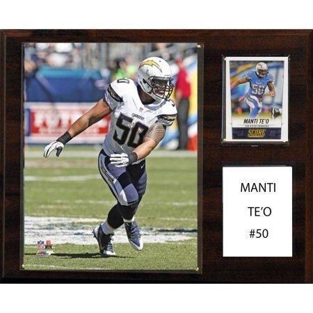 C Collectables NFL 12x15 Manti Te'o San Diego Chargers Player Plaque