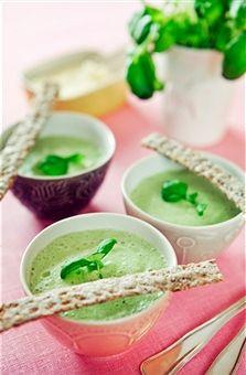 Ricette dietetiche: la crema di cetrioli e patate
