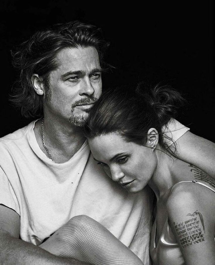 Brangelina via @fashionfrique  By Annie Leibovitz by chique_le_frique