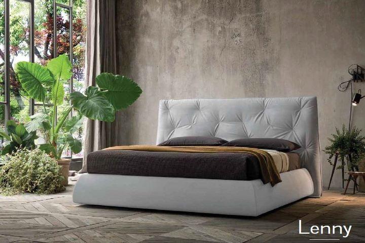 Modern ágy lenny - www.montegrappamoblili.hu