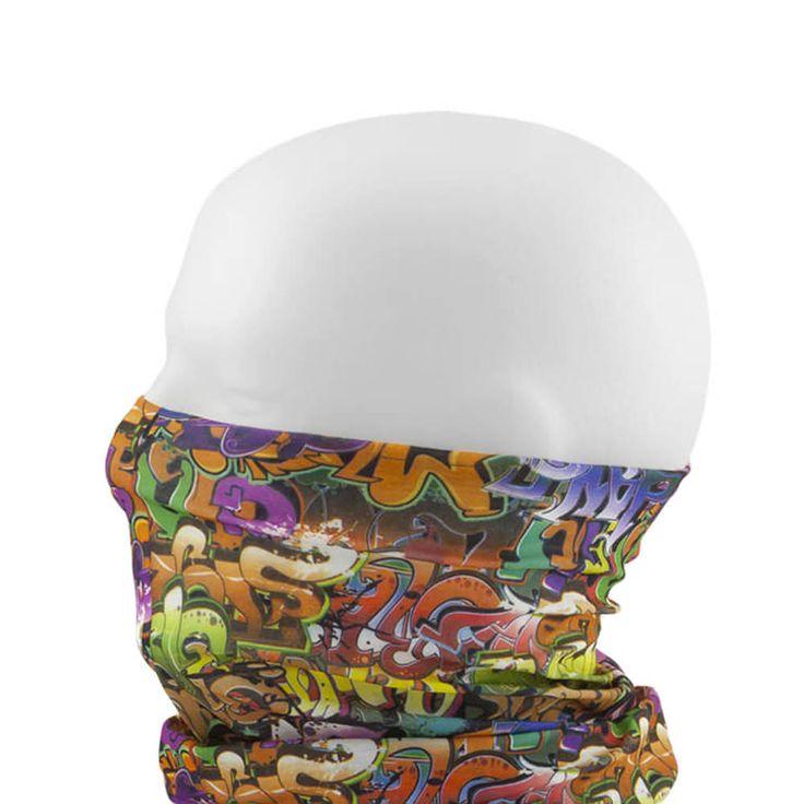 Multifunktionstuch / Schlauchtuch / Halstuch - Graffiti in Bekleidung Accessoire  • Schals & Tücher • Multifunktionstücher