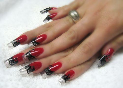 ~` moulin rouge nail art `~ .. 365 days of nail art