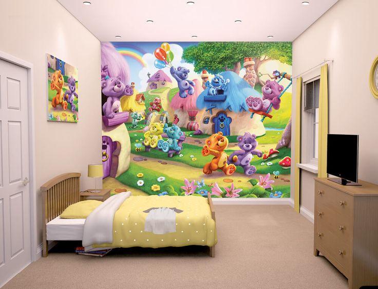 Walltastic Button Bears Kids Wall Mural
