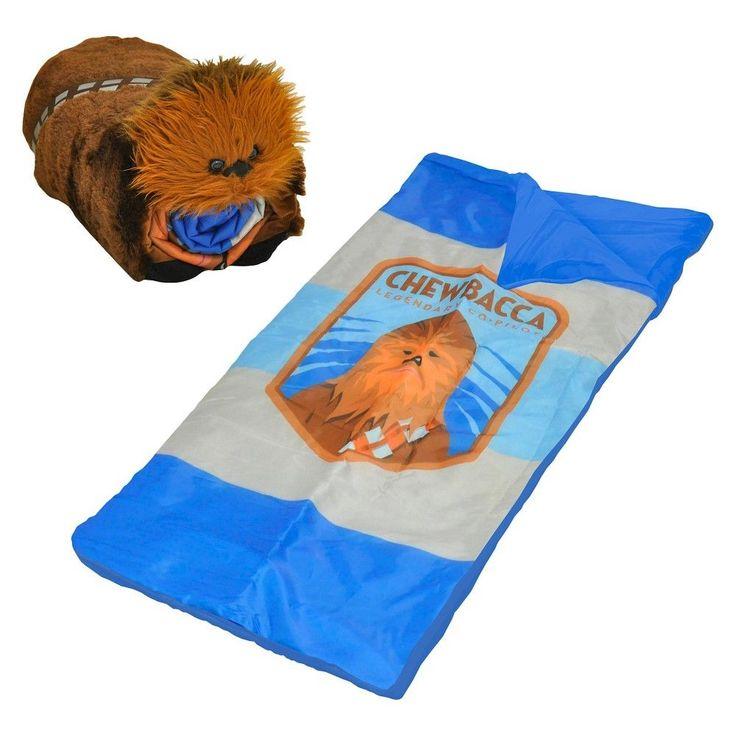 Chewbacca Sleeping Bag Set 2pc - Star Wars, Brown