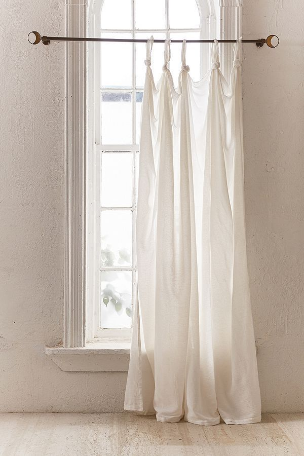 Slide View 2 Knotted Window Curtain Renovation Do-it-yourself in