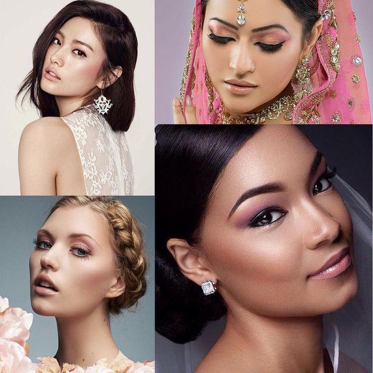 BRIDAL MAKEUP TREND - MONOCHROME...50 SHADES OF PINK #bridalmakeup #pinkmakeup #bride #makeupartist #chicagomakeupartist #springbride #makeupchicago #chicagomua #blushingbride #blush #queenoftheday #veil #lipstick #narsis #inglot