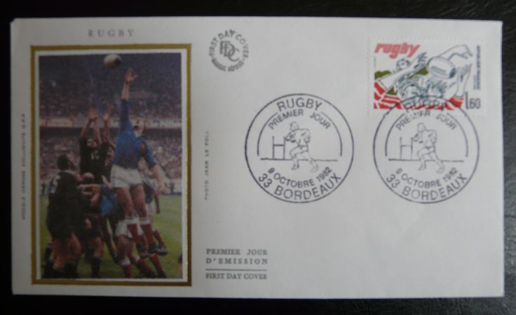 France 1982 - For more #rugby collectables check out my blog: http://www.rocky-rugby.com/