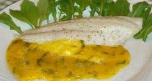 Orata ripiena con zuppa di patate