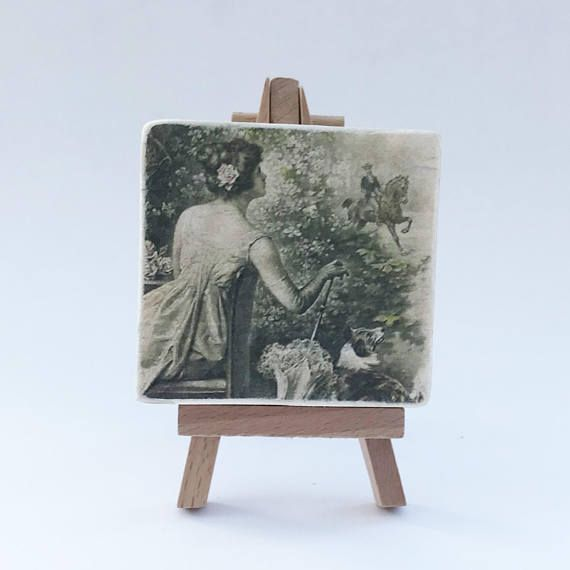 Romantic Wooden Picture Wood Gift Wood Decors Wood