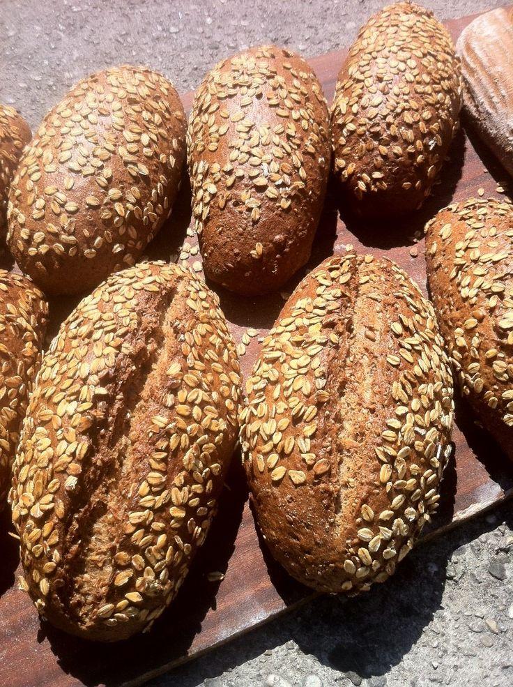 pane biologico ai cinque cereali e fiocchi d'avena