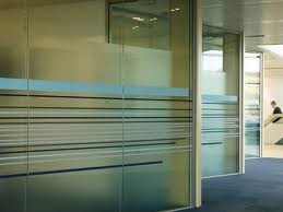 Glass and manifestation graphics design and specify for Office design yorkshire