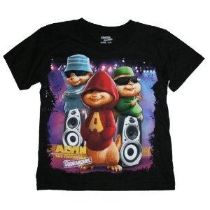 alvin the chipmunks the squeakquel t shirt apparel