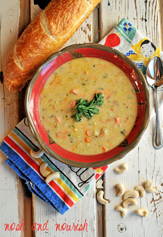 Delicious (and easy!!) Salmon Chowder your whole family will love.