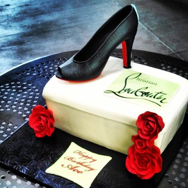 Wonderful Shoe Cake by Over the Rainbow Desserts