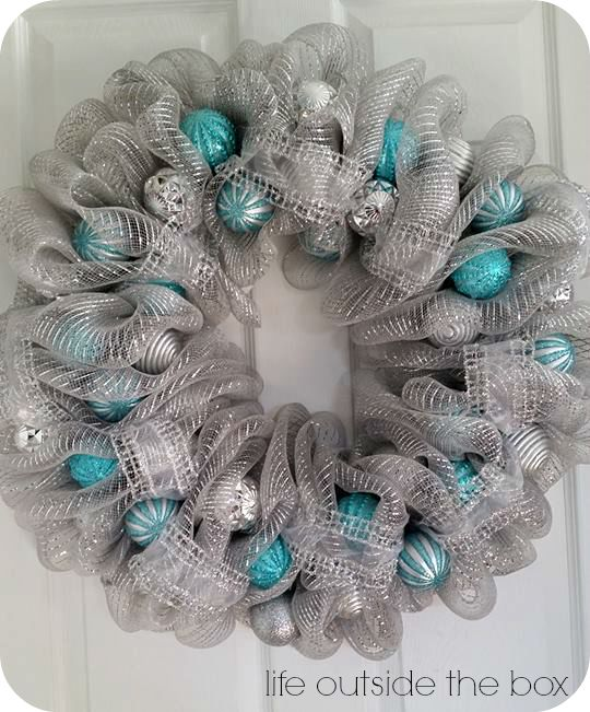 Christmas Deco Mesh Wreaths