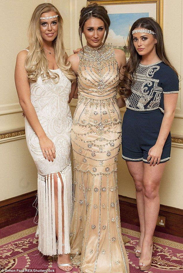Moving on? The girls have reunited with Megan McKenna (middle) in Marbella - who they famously fell out with on the show last series