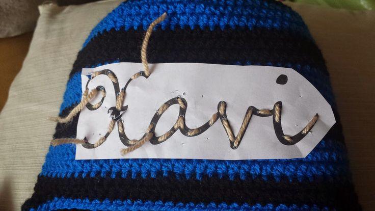 Crochets4U: Letters haken, bijvoorbeeld een naam op een muts