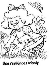 girl scouts daisy activity stickers - Girl Scout Brownie Coloring Pages