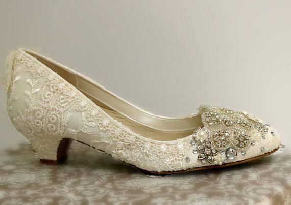 Low Heel Wedding Shoes Gallery My Wedding Guides